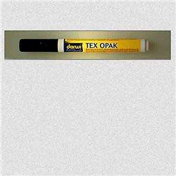 Маркер по текстилю DARWI Tex Opak 6 мл/ Белый/ круглый. наконечн.