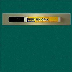 Маркер по текстилю DARWI Tex Opak 6 мл/ Темно-зеленый/ круглый. наконечн.