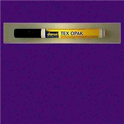 Маркер по текстилю DARWI Tex Opak 6 мл/ Фиолетовый/ круглый. наконечн.