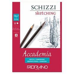 """Склейка д/графики """"Accademia Schizzi"""" 21х29,7 см 50л 120г"""