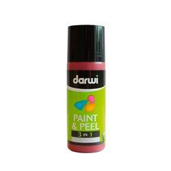 Краска трансфертная Paint & Peel/ Бордовая 80 мл
