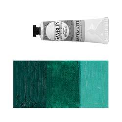 Алкидно-масляная краска Gamblin FM Зеленая виридоновая, матовая, быстросохнущая