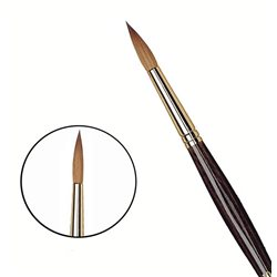 Кисть круглая Da Vinci 36Y/харбинский колонок/шестигран. ручка/№ 10