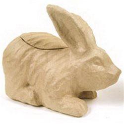 Кролик / папье-маше/ 25х19х12см