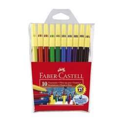 """Набор фломастеров """"ЗАМОК"""" Faber Castell 10 цв."""