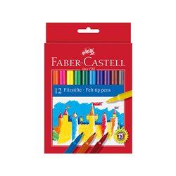 Фломастеры в наборе Замок Faber Castell 12 цв.
