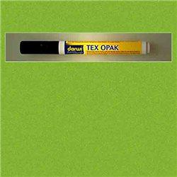 Маркер по текстилю DARWI Tex Opak 6 мл/ Светло-зеленый/ круглый. наконечн.