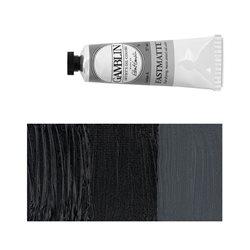 Алкидно-масляная краска Gamblin FM Черная слоновая кость, матовая, быстросохнущая