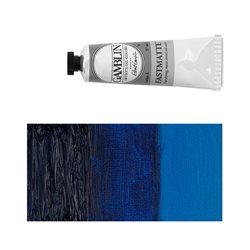 Алкидно-масляная краска Gamblin FM Синий фтало, матовая, быстросохнущая