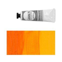 Алкидно-масляная краска Gamblin FM Индийская желтая, матовая, быстросохнущая