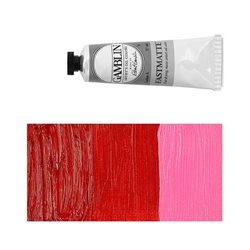 Алкидно-масляная краска Gamblin FM Красный квинакридон, матовая, быстросохнущая