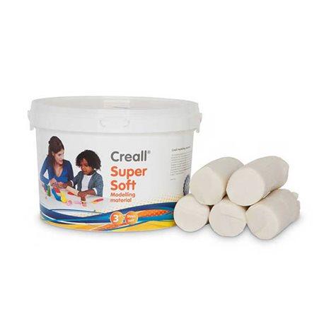 Пластилин, супермягкийCreall SuperSoft Havo/ Белая 1750 гр