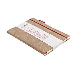 Блокнот в линейку SenseBook Red Rubber M/ 14х21 см А5, 158 страниц