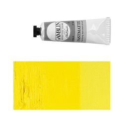Алкидно-масляная краска Gamblin FM Кадмий желтый светлый, матовая, быстросохнущая