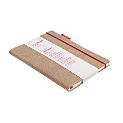Блокнот SenseBook Red Rubber S/ 9х14 см/ A6,эскизный, 158 страниц