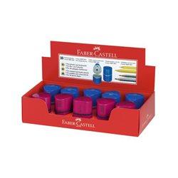 Точилка TRIO GRIPP 2001 Faber Castell красный/синий в картон.коробке