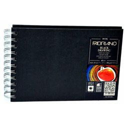 Альбом Black Drawing Book 14,48х21 40л, 190гр