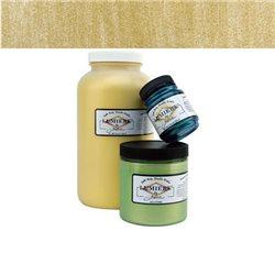 """Нерастекающаяся металлическая краска по тканям """"Lumiere"""" античное золото"""