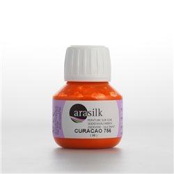 Краска для росписи шелка Dupont Arasilk/ Оранжевый
