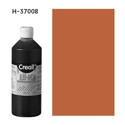 Краска для линогравюры Creall-Lino/коричневый/250мл
