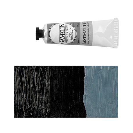 Алкидно-масляная краска Gamblin FM Черная хроматическая, матовая, быстросохнущая