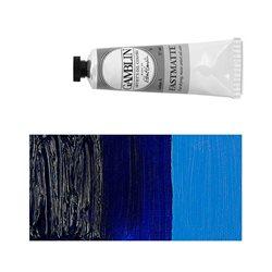 Алкидно-масляная краска Gamblin FM Ультрамарин синий, матовая, быстросохнущая