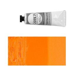 Алкидно-масляная краска Gamblin FM Кадмий оранжевый, матовая, быстросохнущая