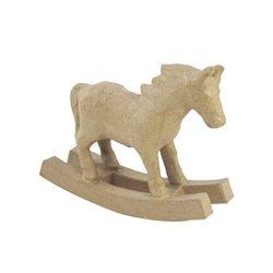 Лошадка- качалка/ папье-маше/6х22х15.5 см