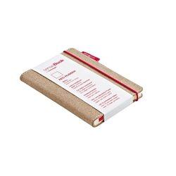 Блокнот в клетку SenseBook Red Rubber S/ 9х14 см/ A6, 158 страниц