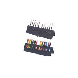 Пенал для кистей и карандашей - стойка на молнии 17,5 * 36,5 см