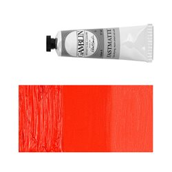 Алкидно-масляная краска Gamblin FM Кадмий красный, матовая, быстросохнущая