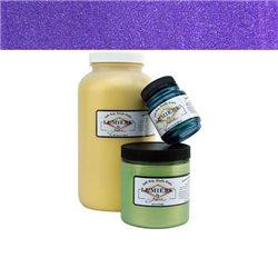 """Нерастекающаяся металлическая краска по тканям """"Lumiere"""" жемчужно-фиолет."""