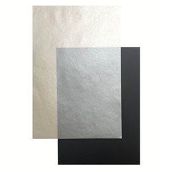Калька цветная CANSON 5 л, A4, 100гр/м Серебряная