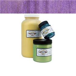 """Нерастекающаяся металлическая краска по тканям """"Lumiere"""" золотисто-фиолетовая светящ."""