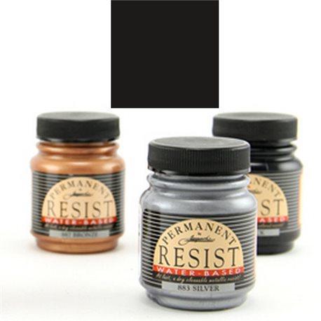 """Контурная перламутр. краска """"Permanent Resist """" черная"""