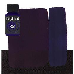 """Краска акриловая """"Polyfluid"""" / Фиолетовый"""