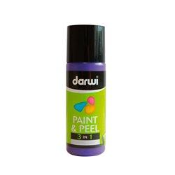 Краска трансфертная Paint & Peel/ Фиолетовая 80 мл