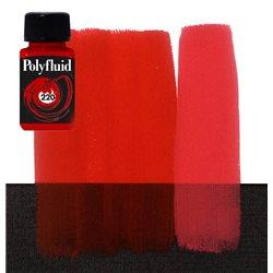 """Краска акриловая """"Polyfluid"""" / Красный яркий"""
