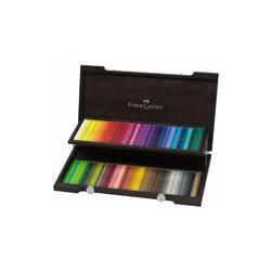 Набор цветн.карандашей Polychromos Faber Castell 120 цв.в деревянном пенале