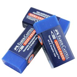 Ластик Dust-Free Faber-Castell синий