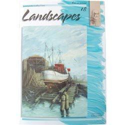 Пейзажи (на анг. яз.) LANDSCAPES LC 18
