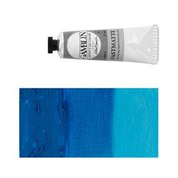 Алкидно-масляная краска Gamblin FM Марганцевая синяя (тон), матовая, быстросохнущая