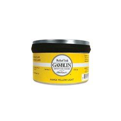 Ганза желтая. Краска для высокой печати Gamblin Relief Ink