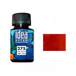 Краска лаковая по стеклу Idea Vetro/Сиена жженая