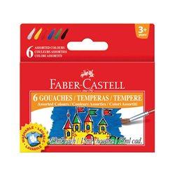 Набор гуаши Faber-Castell 6 цв х 15 мл в картонной коробке