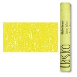 Масляная пастель классико Желтый лимонный