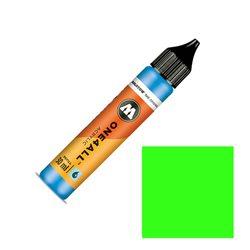 Заправка Molotow One4ALL 30 мл. Неоновый зелёный флуоресцентный