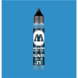 Чернила Molotow Aqua Ink 012 Циан, 30 мл