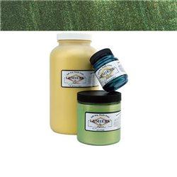 """Нерастекающаяся металлическая краска по тканям """"Lumiere"""" оливк.зеленая"""