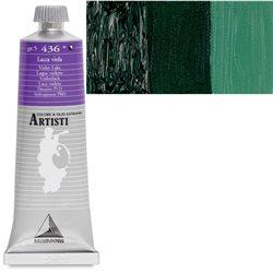 """Краска масл. """"Artisti"""" /Киноварь зеленая темная"""